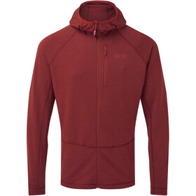 Rab Filament Hoody Men, oxblood red